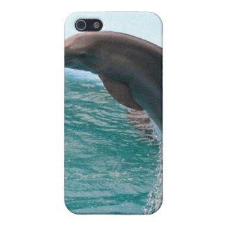Caso de salto del iPhone 4 del delfín iPhone 5 Protector