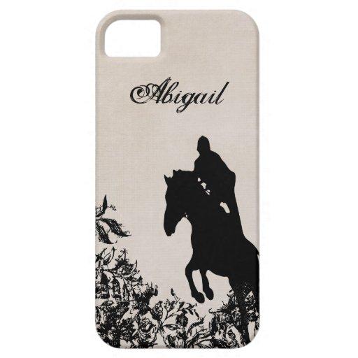 Caso de salto del iPhone 5 del caballo ecuestre iPhone 5 Case-Mate Carcasa