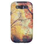 Caso de Samsun - abrazo del otoño Galaxy SIII Protectores