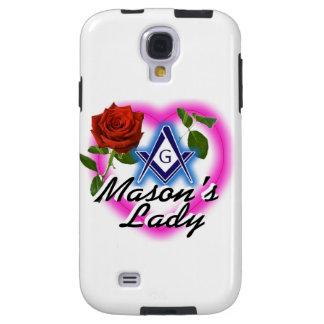 Caso de Samsung Galaxy4 masónico Funda Para Galaxy S4
