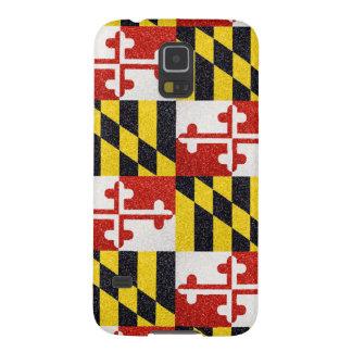 Caso de Samsung GalaxyS5 de la bandera de Maryland Carcasas Para Galaxy S5