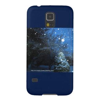 Caso de Samsung S5 del cuento del invierno con el Funda Para Galaxy S5