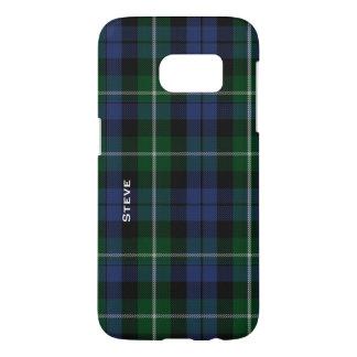 Caso de Samsung S7 de la tela escocesa de tartán Funda Samsung Galaxy S7