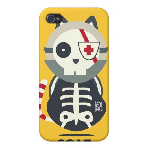 ¡CASO DE SCAT! iPhone 4 CARCASAS