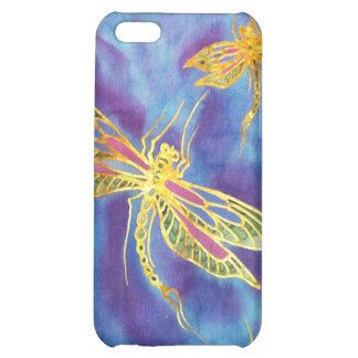 Caso de seda de la libélula de IPhone 4/4S