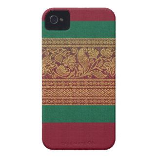 Caso de seda del diseñador para el iPhone 4/4s iPhone 4 Case-Mate Coberturas