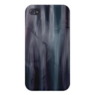 Caso de seda líquido del iPhone 4 del efecto de la iPhone 4 Fundas