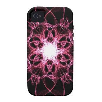 Caso de seda rosado del ambiente del iPhone 4/4S d iPhone 4/4S Fundas