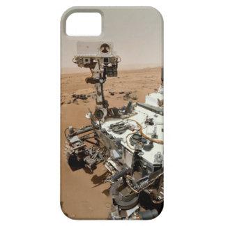 Caso de Selfie Iphone de la curiosidad de Marte iPhone 5 Carcasas