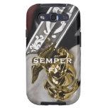 Caso de Semper Fi Galaxy S3 Protectores