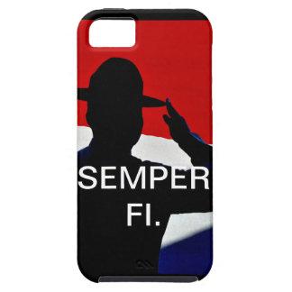 Caso de Semper Fi IPhone iPhone 5 Case-Mate Cobertura