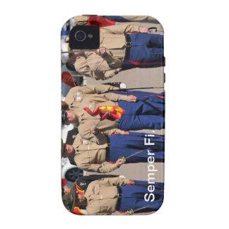 Caso de Semper Fi IPhone Vibe iPhone 4 Carcasa