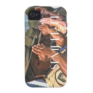Caso de Semper Fi Iphone iPhone 4 Funda