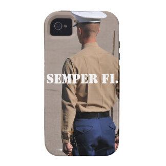 Caso de Semper Fi IPhone iPhone 4/4S Funda