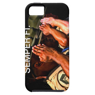 Caso de Semper Fi IPhone Funda Para iPhone 5 Tough