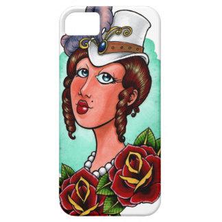 Caso de señora Iphone 5 del Victorian Funda Para iPhone SE/5/5s