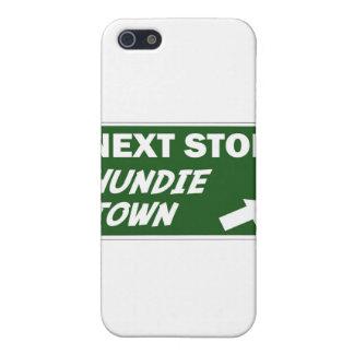 Caso de Shell duro de la ciudad de Hundie para el  iPhone 5 Carcasas
