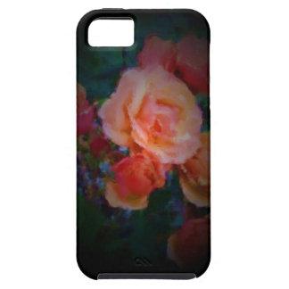 Caso de Shell duro de los rosas del país para el iPhone 5 Carcasa
