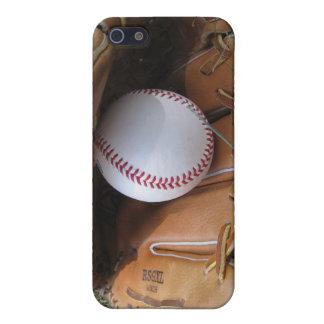 Caso de Shell duro del béisbol para el iPhone 4 iPhone 5 Carcasas
