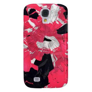 Caso de Shell duro del beso negro para el iPhone 3 Funda Para Galaxy S4