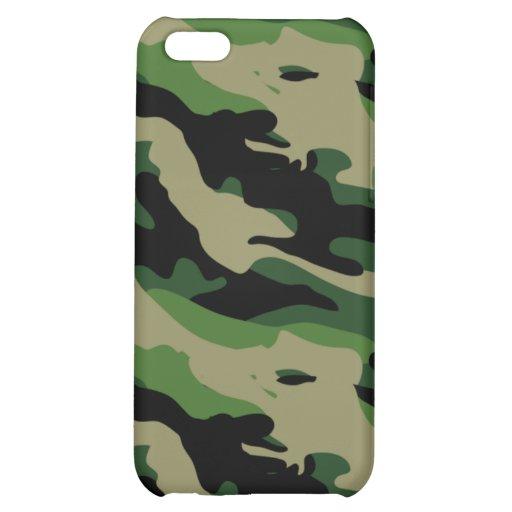 Caso de Shell duro del camuflaje para el iPhone 4/