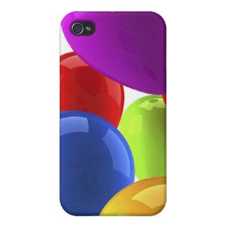 Caso de Shell duro del globo para el iPhone 4 iPhone 4 Fundas