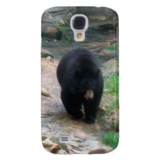 Caso de Shell duro del iPhone 3 americanos del oso Funda Para Galaxy S4