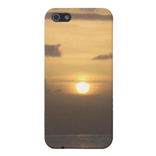 Caso de Shell duro del ocaso para el iPhone 4 iPhone 5 Carcasas