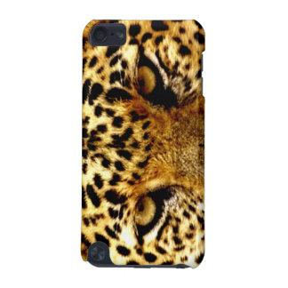 Caso de Shell duro del tacto de iPod del leopardo