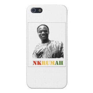 Caso de Shell duro del teléfono 4 de Kwame Nkrumah iPhone 5 Carcasas