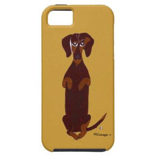 Caso de Sidney IPhone 5 del Dachshund iPhone 5 Case-Mate Carcasas