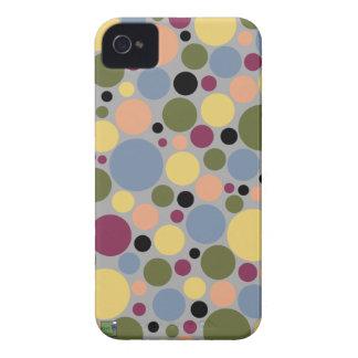 Caso de Smartphone de los lunares iPhone 4 Case-Mate Carcasa