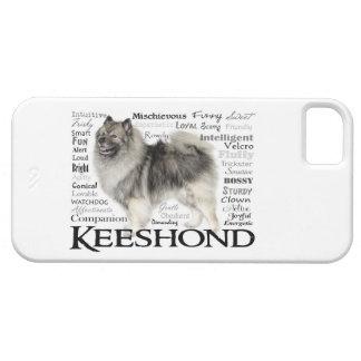Caso de Smartphone de los rasgos del Keeshond iPhone 5 Cárcasa
