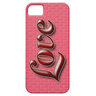 Caso de Smartphone del amor para el iPhone 5/5S iPhone 5 Case-Mate Carcasas