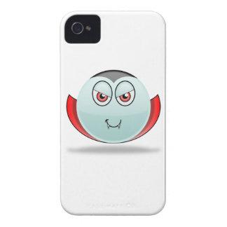 Caso de Smilie Blackberry del vampiro Case-Mate iPhone 4 Cárcasas
