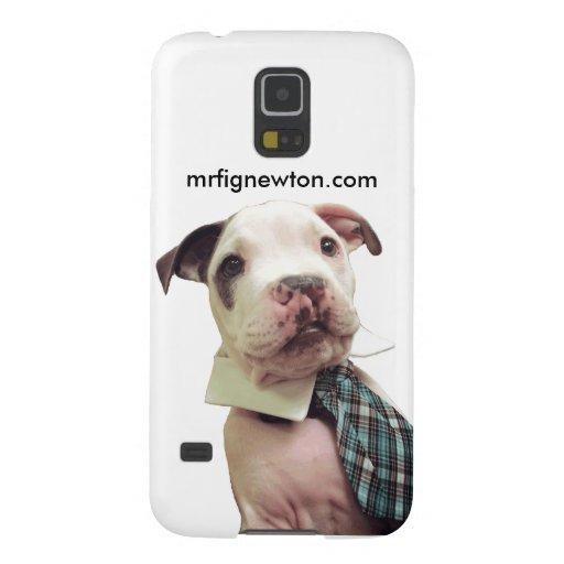 Caso de Sr. Fig Newton Samsung Galaxy s5 Funda Para Galaxy S5