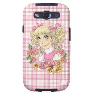 Caso de Srta. Candice Samsung Galaxy S (rosa) Galaxy S3 Cobertura