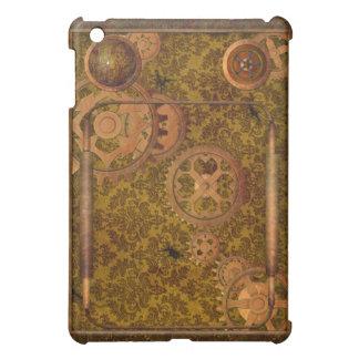 Caso de Steampunk Ipad de madera y del cobre
