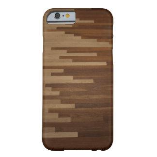 Caso de suelo de parqué funda de iPhone 6 barely there