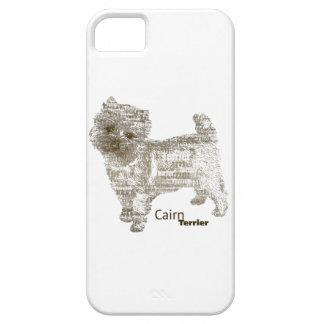 Caso de Terrier de mojón - TypoDoggies iPhone 5 Case-Mate Carcasa