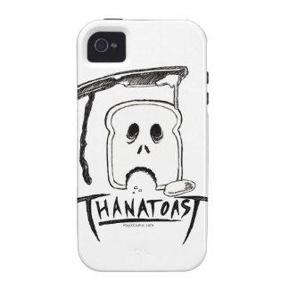 Caso de Thanatoast iPhone 4 Fundas