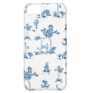 Caso de Toile Iphone del unicornio Funda Para iPhone 5C