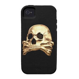 Caso de Totenkopf IPhone 4 iPhone 4/4S Carcasa