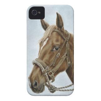Caso de trabajo del caballo iPhone4/4S Funda Para iPhone 4