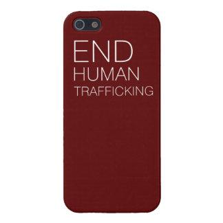 Caso de tráfico humano de Iphone 5 del final iPhone 5 Coberturas