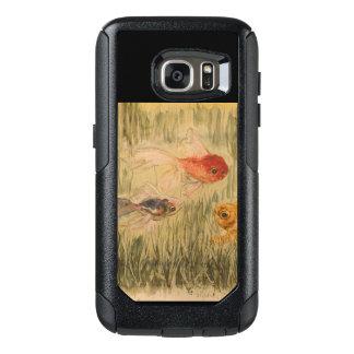 Caso de tres de los amigos de Samsung S7 series Funda Otterbox Para Samsung Galaxy S7