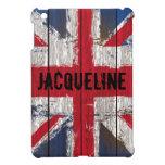 Caso de Union Jack Ipad del Grunge iPad Mini Funda