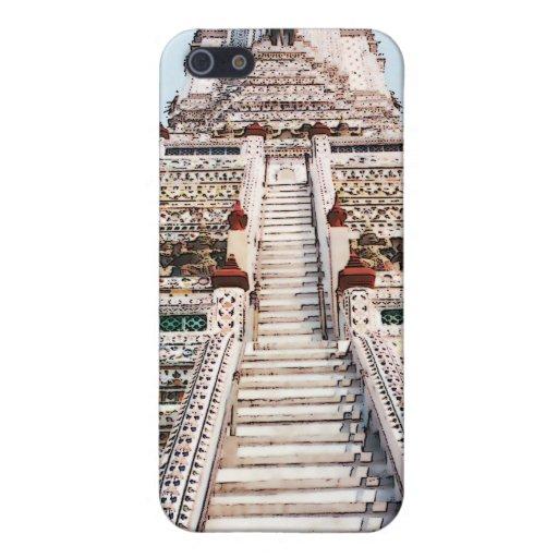 Caso de Wat Arun~iPod iPhone 5 Protector
