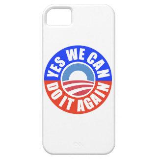 Caso de YesWeCan DoItAgain Obama Iphone5 iPhone 5 Carcasa