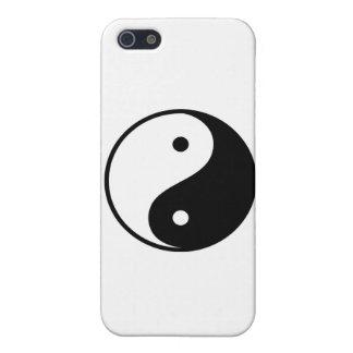 Caso de Yin Yang iPhone 5 Protector